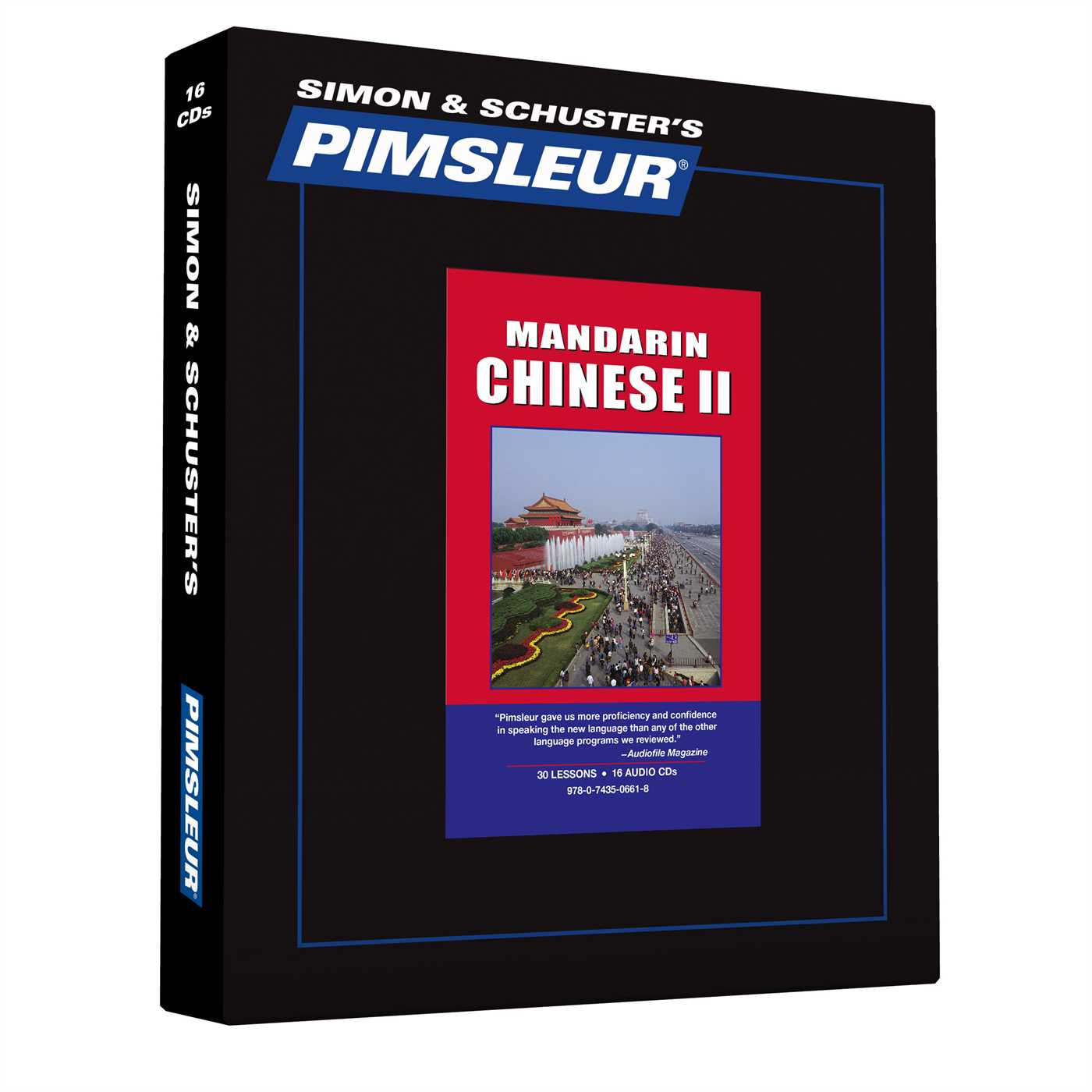 Pimsleur Chinese (Mandarin) Level 2 CD : Learn to Speak and Understand Mandarin Chinese with Pimsleur Language Programs