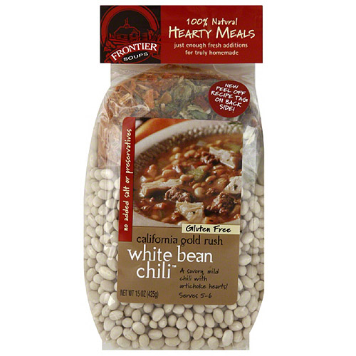 Hearty Meals California Gold Rush White Bean Chili Mix Soup, 15 oz, (Pack of 8)