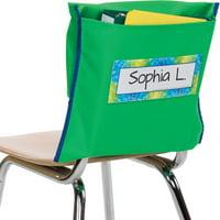 Store More Deep-Pocket Chair Pockets - Green
