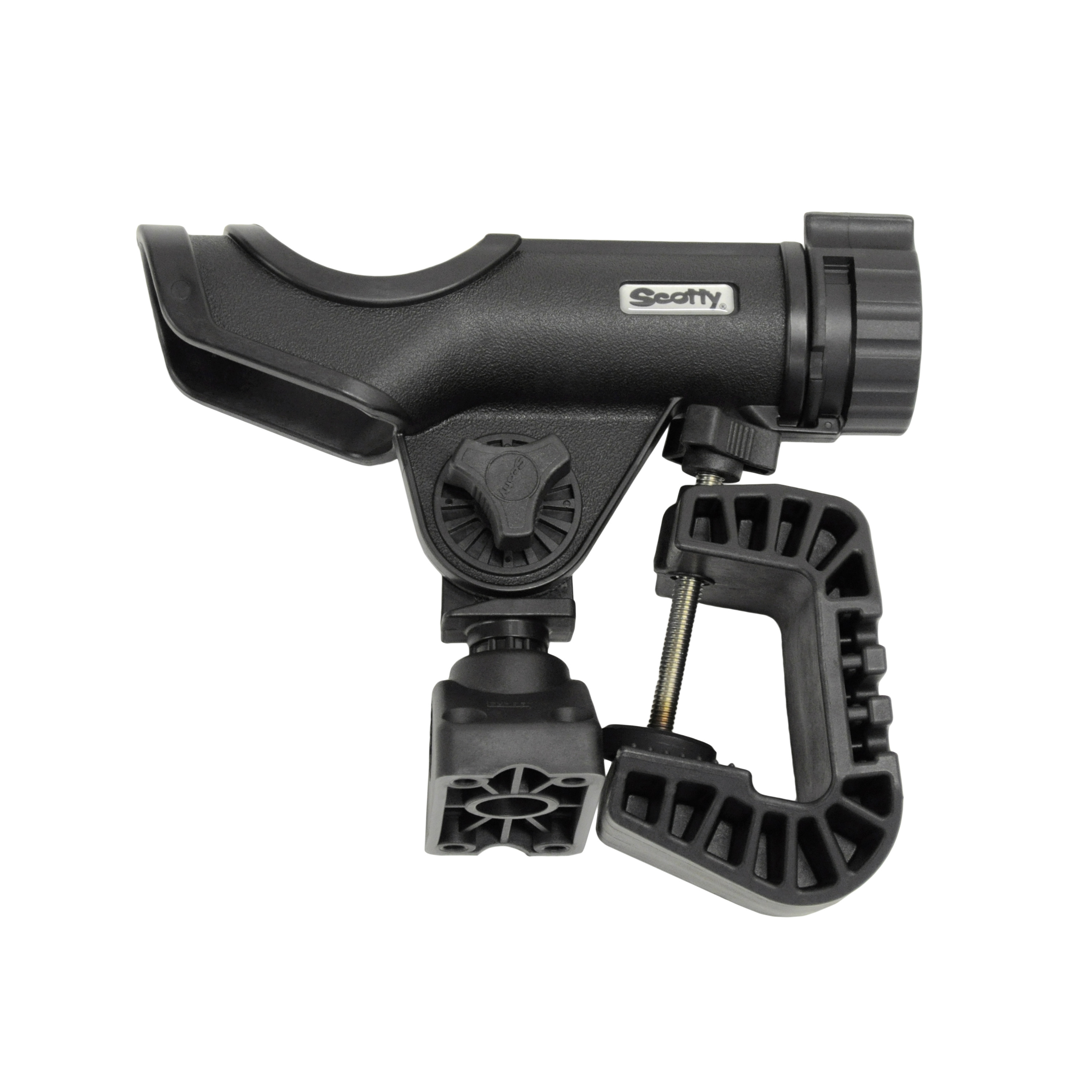 Scotty Powerlock Rod Holder with Portable Clamp Mount by Scotty