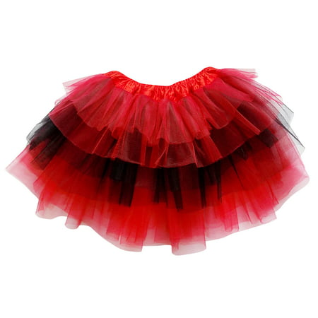 So Sydney Adult, Plus, or Kids Size 6 LAYER FAIRY TUTU SKIRT Halloween Costume - Plus Size Dark Angel Costume
