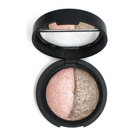 Laura Geller Baked Marble Eye Shadow Duo, Fresco/Sable