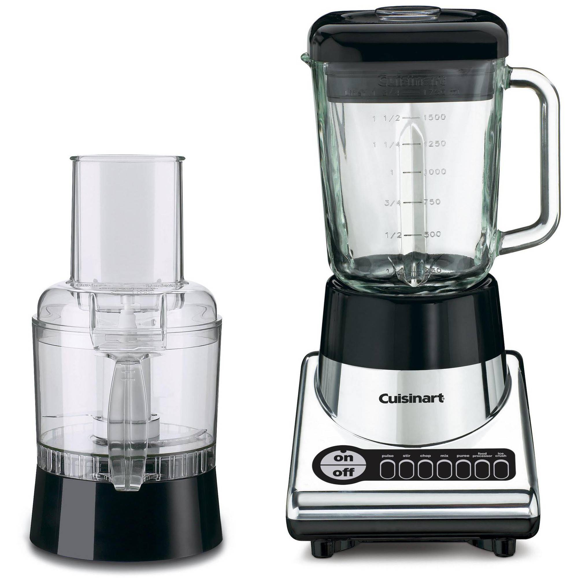 Cuisinart Blender 12-Cup Food Processor, Chrome