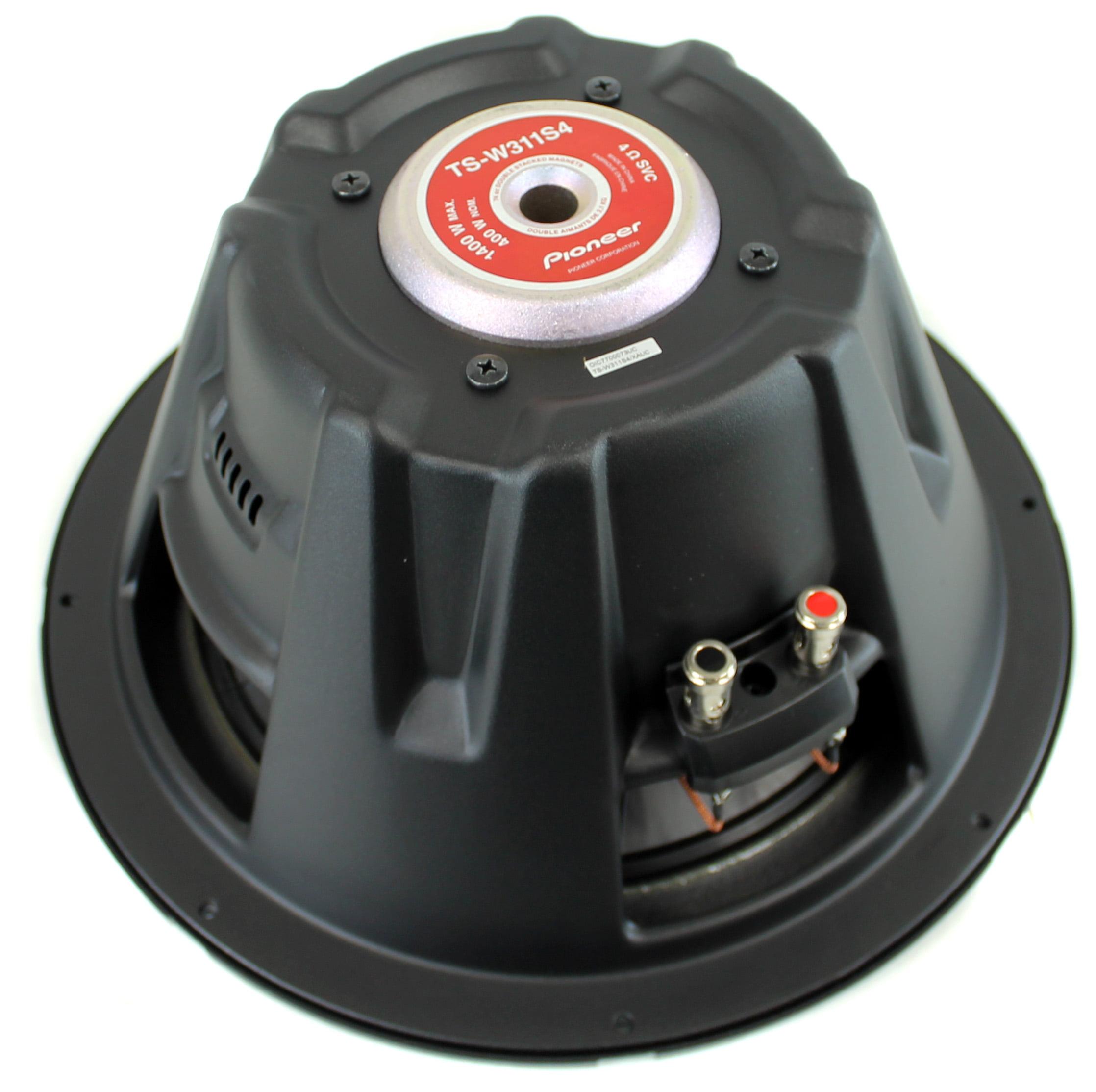 Pioneer 12 Inch 1400 Watt Subwoofer Car Audio Power 4-Ohm SVC Sub ...