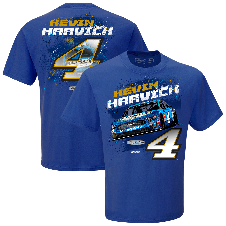 Kevin Harvick Stewart-Haas Racing Team Collection Contender T-Shirt - Royal
