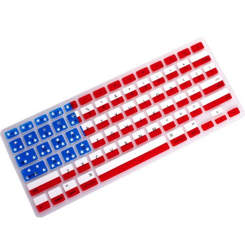"Mosiso - Keyboard Cover Silicone Skin (Macbook Pro 13"" 15"", US Flag)"
