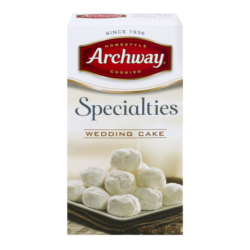 archway wedding cake cookies review archway specialties wedding cake 6 0 oz walmart 10816