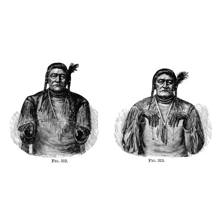 Native Americans Sign Language Nthe Shoshone Chief Tendoy Using Signs To Communicate With Huerito An Apache Chief At Washington Dc April 1880 He Is Leaving In Two More Days  Left  To Return To His Cou