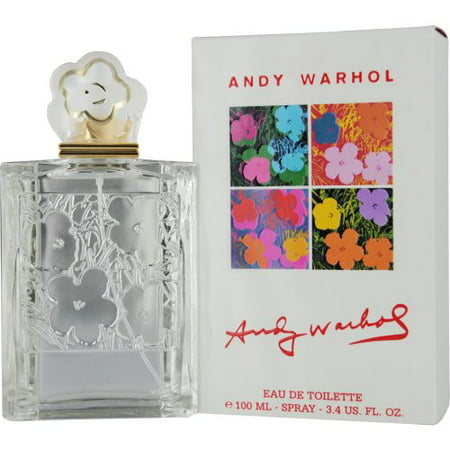 Andy Warhol for Women Eau-de-toilette Spray, 3.4-Ounce