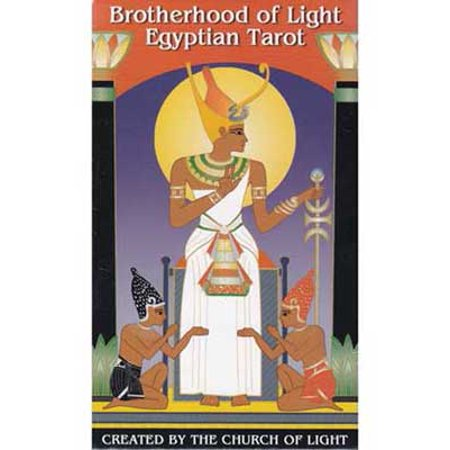 Party Games Accessories Halloween Séance Tarot Cards Brotherhood of Light Egyptian by Church of Light