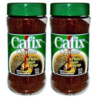 Cafix Crystals Instant Coffee Substitute, 7.05 (Pack of 2)