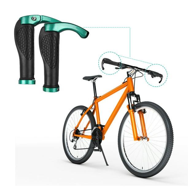 ERGONOMIC COMFY GRIPS HANDLE BAR END GRIPS RUBBER BMX MTB MOUNTAIN BIKE CYCLE
