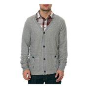 AMBIG Mens The Caesar Cardigan Knit Sweater