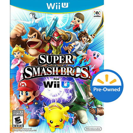 Super Smash Bros  (Wii U) - Pre-Owned Nintendo