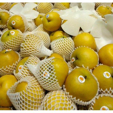 LAMINATED POSTER Macro Asian Close-up Market Pears Fruit Food Poster Print 24 x 36
