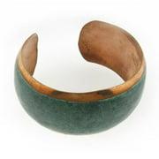 Sterling Arts Handmade Copper Patina Cuff Bracelet (Mexico)
