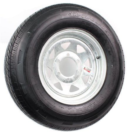 Rainier ST235/80R16E 3520 Lb. 80PSI 16X6 6-5.5 Galvanized Spoke