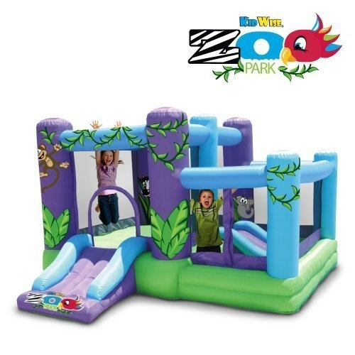 Kidwise Zoo park Inflatable with Ball Pit