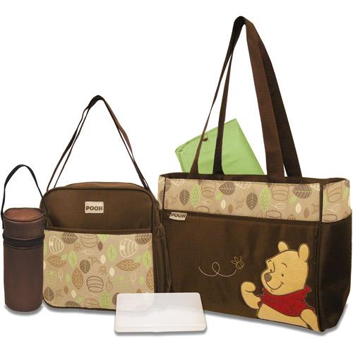 Disney - Pooh 5-in-1 Diaper Bag Set