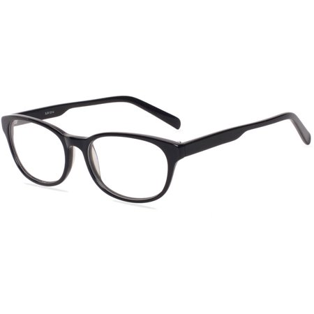 Contour Womens Prescription Glasses, FM14055 Black (Prescription Glasses Sports)