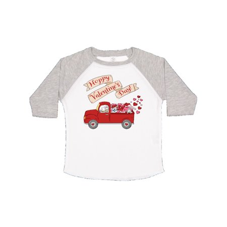 Garbage Truck Halloween Costume (Hoppy Valentine's Day Bunny Truck with Hearts Toddler)