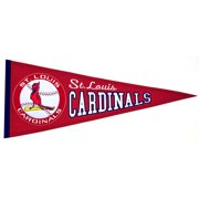 "St. Louis Cardinals 13"" x 32"" Cooperstown Pennant"