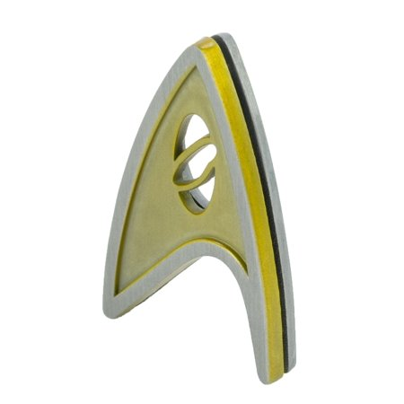 QMx Star Trek Beyond Magnetic Insignia Badge Command - image 3 de 4