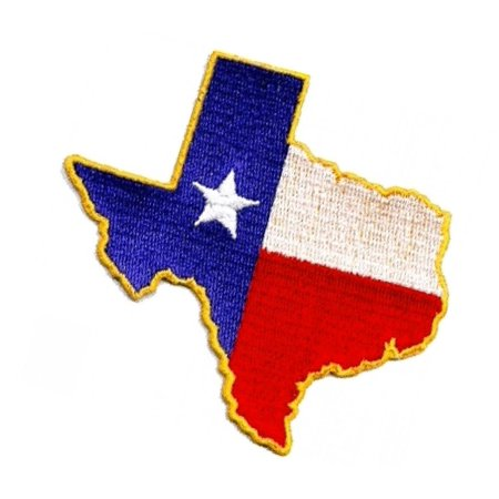 Sea Appliques (Texas State Flag USA Design 2.25