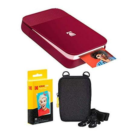 KODAK Smile Instant Digital Printer (Red) Soft Case Kit