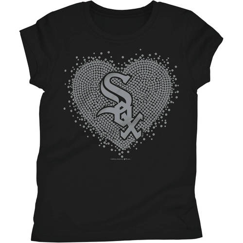 Chicago White Sox Girls Short Sleeve Graphic Tee