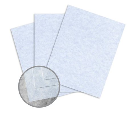 - Skytone Bluestone Card Stock - 8 1/2 x 11 in 65 lb Cover Vellum 30% Recycled 250 per Package