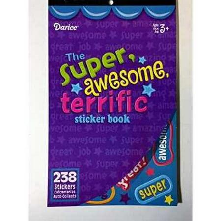 Sticker Book Super Awesome Terrific 238Pc