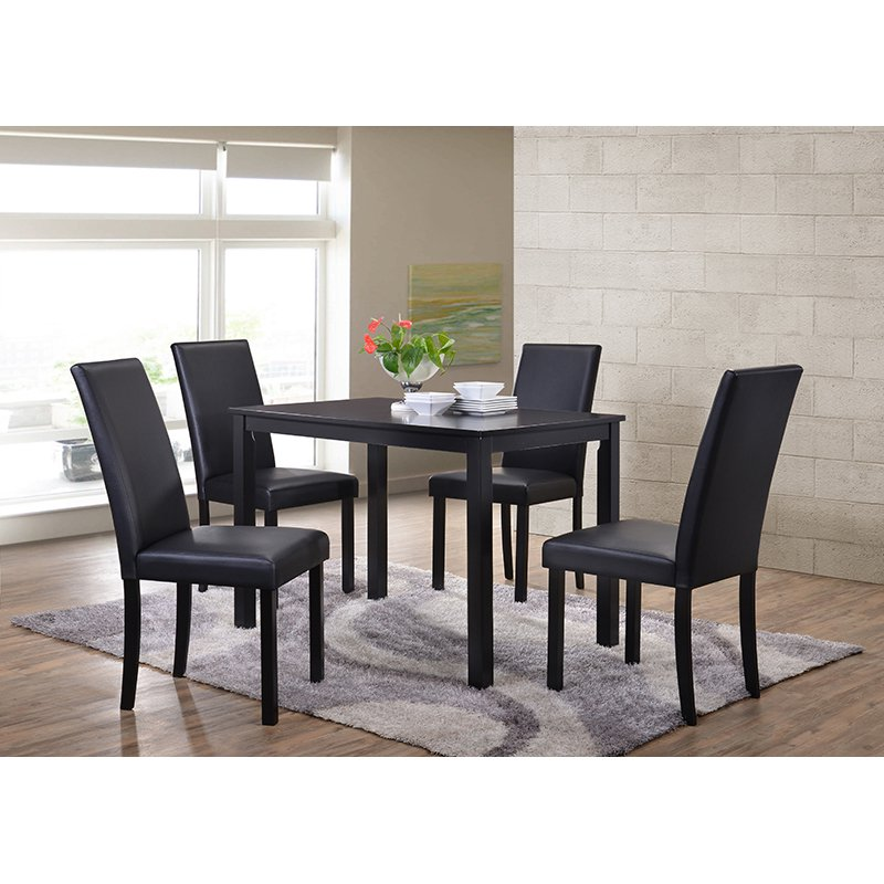 Walmart Dining Room Furniture: Shaker Dining Chairs, Set Of 4, Black