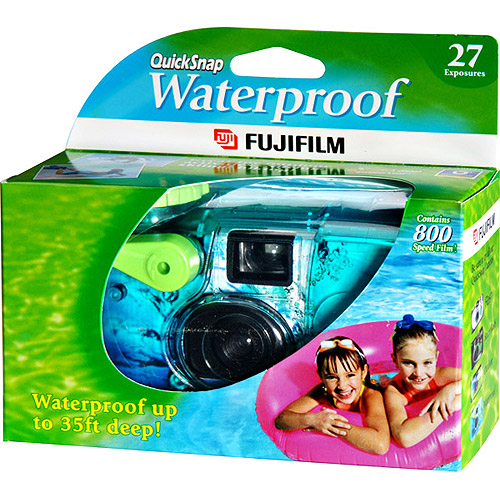 Fujifilm Quick Snap Waterproof Disposable Camera with 27 Exposures
