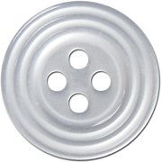 393000004 SLIMLINE BLUMENTHAL BUTTONS 3 4 PEARL 4PC