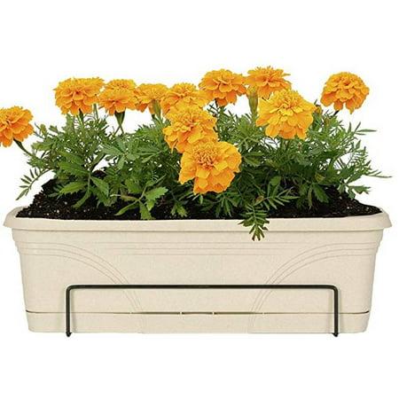 CobraCo FOE26-B 18 - 36 in. Adjustable Open End Flower Box, -