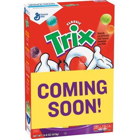 Trix Cereal Swirls 14.8 oz Box