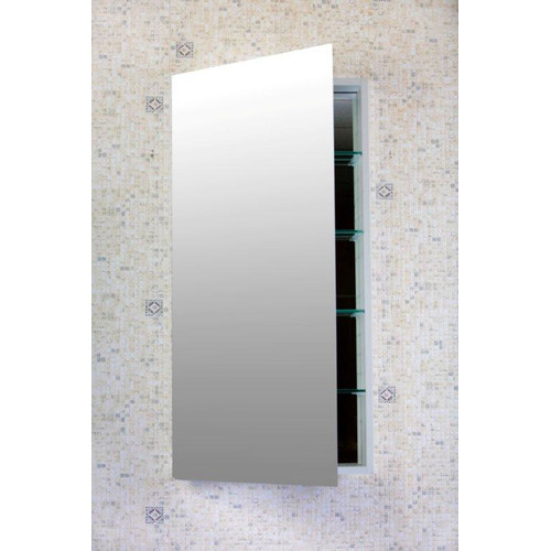 Flawless Bathroom Contemporary 16'' x 40'' Recessed or Surface Mount Medicine Cabinet