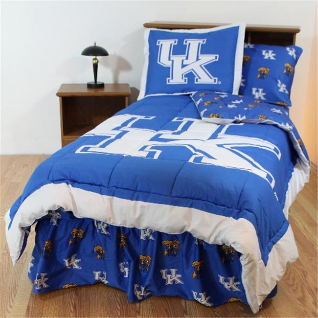 College Covers KENBBFL Kentucky Bed in a Bag Full- With Team Colored Sheets