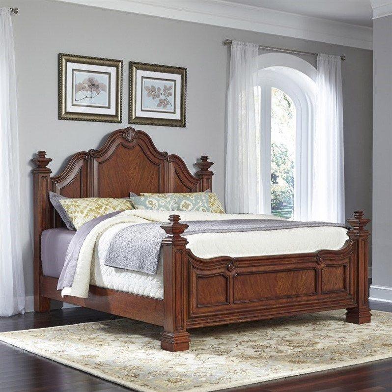Home Styles Santiago Wood King Bed in Cognac - image 1 de 1