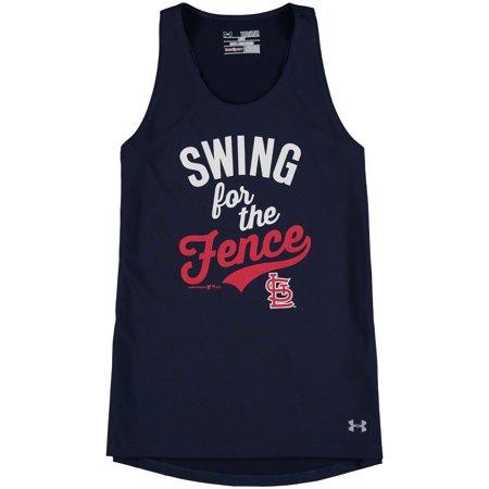 pretty nice 44c6a 0c553 Girls Youth Under Armour Navy St. Louis Cardinals Tech Performance ...