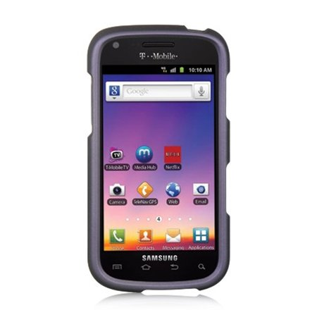 Samsung Galaxy S Blaze 4G Case, by Insten Rubber Coated Hard Snap-in Case Cover For Samsung Galaxy S Blaze 4G SGH-T769 (Samsung Galaxy S 4g Sgh T959v Battery)
