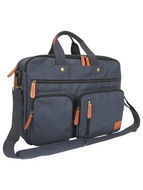 "Protg 16"" 2N1 Messenger Bag, Gray"
