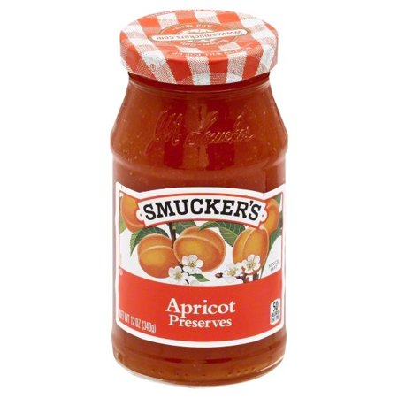 (3 Pack) Smucker's Apricot Preserves, 12 -