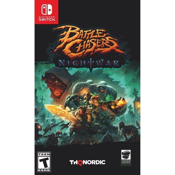 Battle Chasers: Nightwar, Nintendo Switch, THQ Nordic