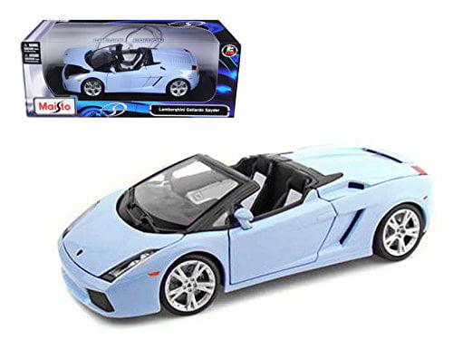 Maisto 31136 Lamborghini Gallardo Spyder Blue 1 18 Diecast Model Car by