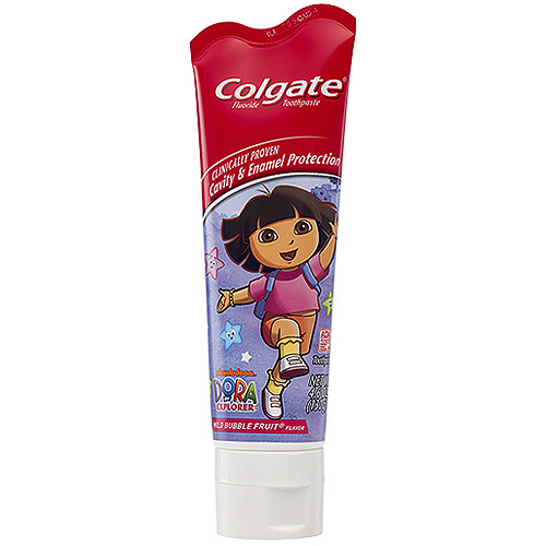 Colgate Dora The Explorer Fluoride Toothpaste, 4.6 oz
