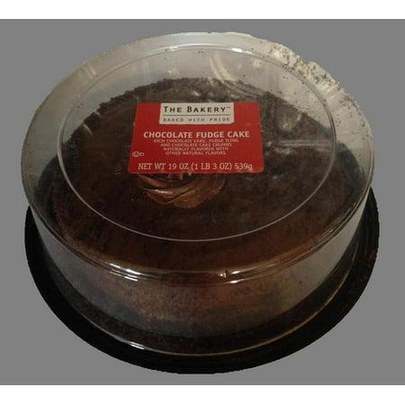 Single Layer Chocolate Fudge Cake