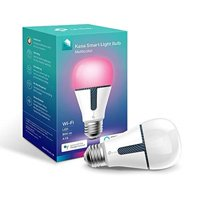Kasa Smart Wi-Fi LED Light Bulb by TP-Link - Multicolor, Dimmable, A19, Open Box