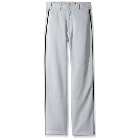 Boys Mako II Piped Pants, Grey/Black, X-Large, 100% Polyester By Easton from USA